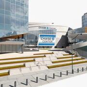 大通中心竞技场公园 3d model