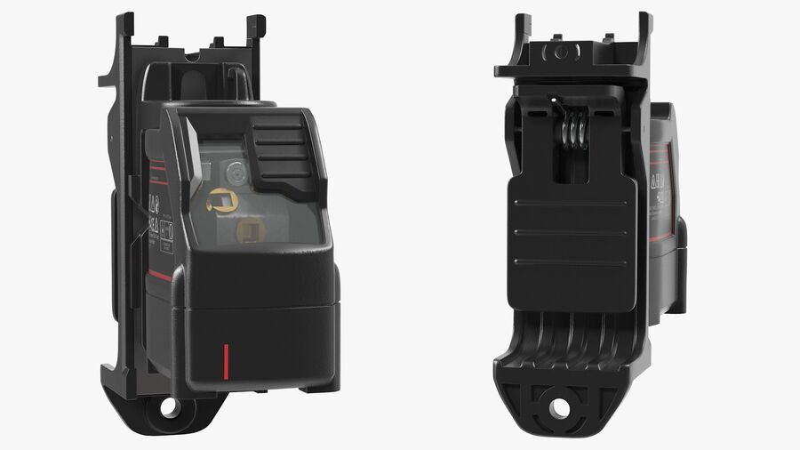 Livello laser a croce autolivellante royalty-free 3d model - Preview no. 9