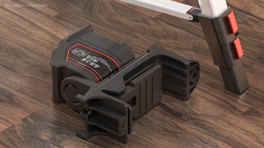 Livello laser a croce autolivellante royalty-free 3d model - Preview no. 7