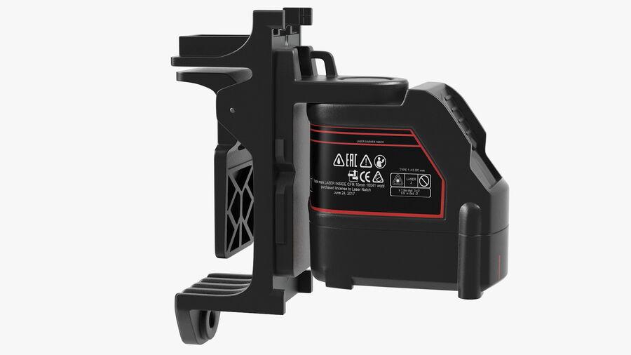 Livello laser a croce autolivellante royalty-free 3d model - Preview no. 11