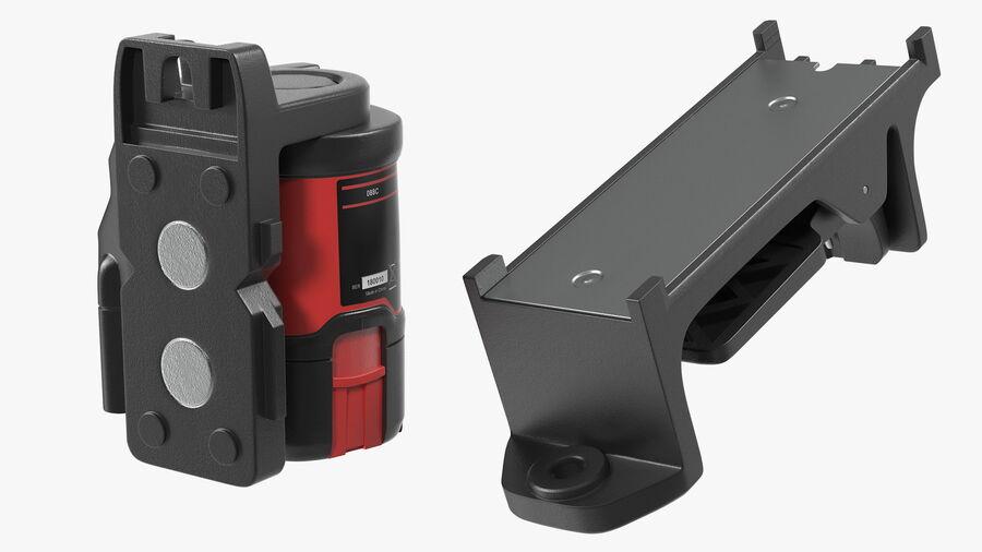 Livello laser a croce autolivellante royalty-free 3d model - Preview no. 8