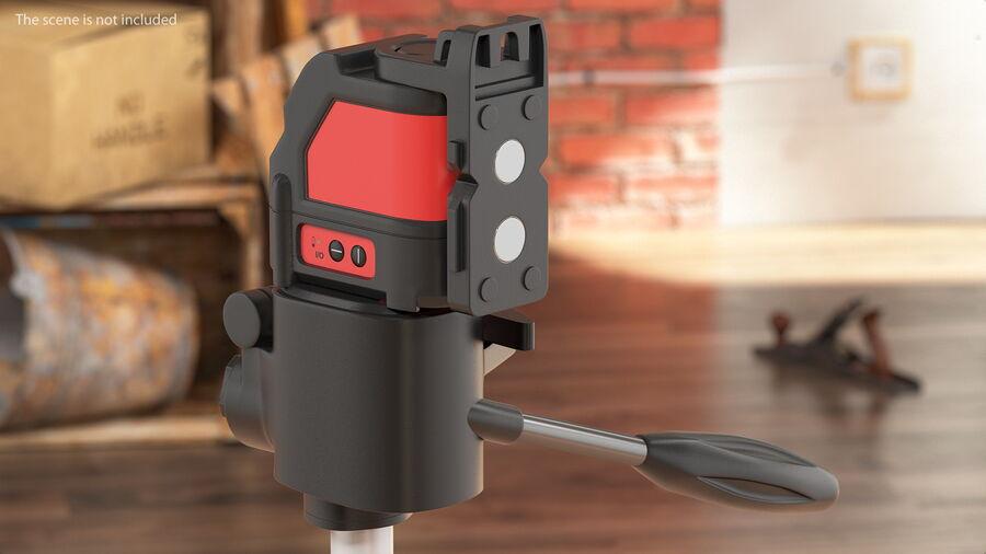 Livello laser a croce autolivellante royalty-free 3d model - Preview no. 5