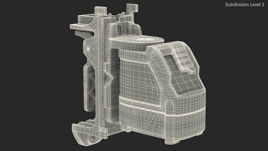 Livello laser a croce autolivellante royalty-free 3d model - Preview no. 23