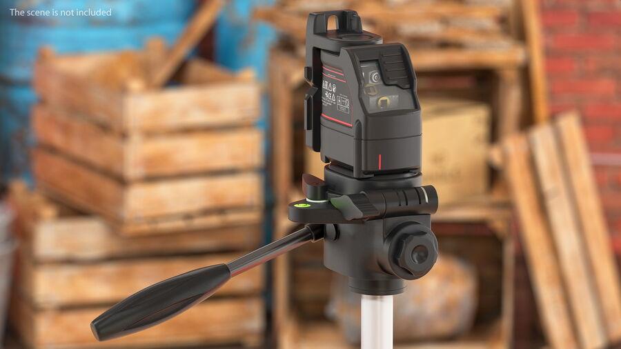 Livello laser a croce autolivellante royalty-free 3d model - Preview no. 4