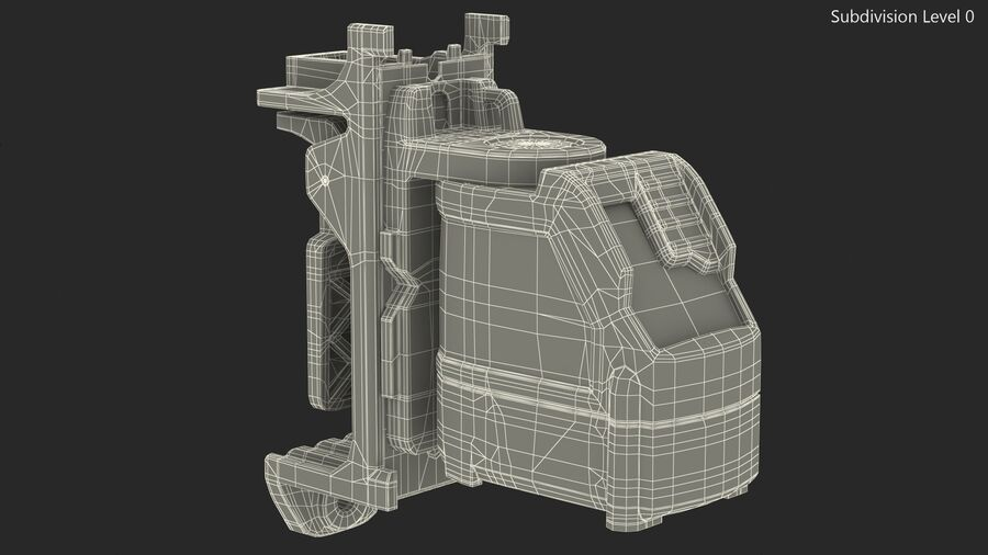Livello laser a croce autolivellante royalty-free 3d model - Preview no. 22