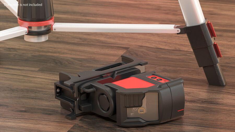 Livello laser a croce autolivellante royalty-free 3d model - Preview no. 6