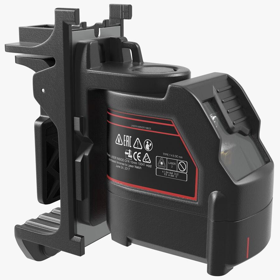 Livello laser a croce autolivellante royalty-free 3d model - Preview no. 1