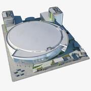 体育场公园竞技场 3d model