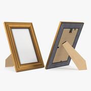 Küçük Altın Fotoğraf Çerçevesi 3d model