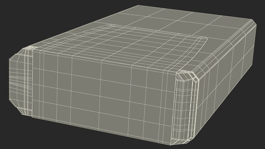 Container with Colorful Dragee royalty-free 3d model - Preview no. 25