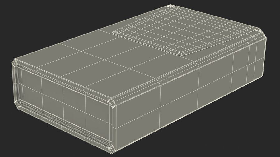 Container with Colorful Dragee royalty-free 3d model - Preview no. 26