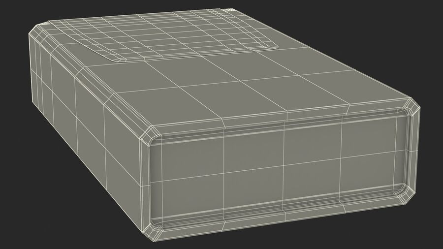 Mint Candy Container royalty-free 3d model - Preview no. 23