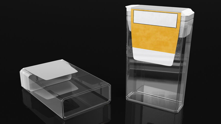 Mint Candy Container royalty-free 3d model - Preview no. 6