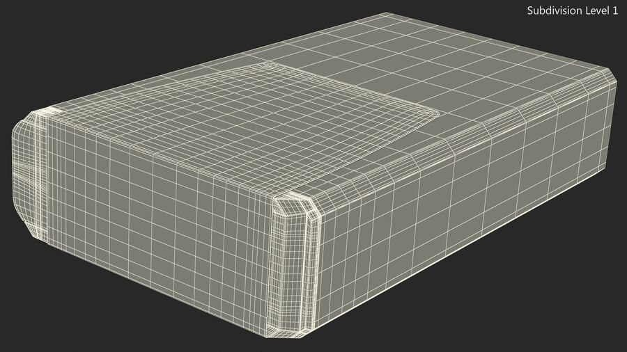 Mint Candy Container royalty-free 3d model - Preview no. 14
