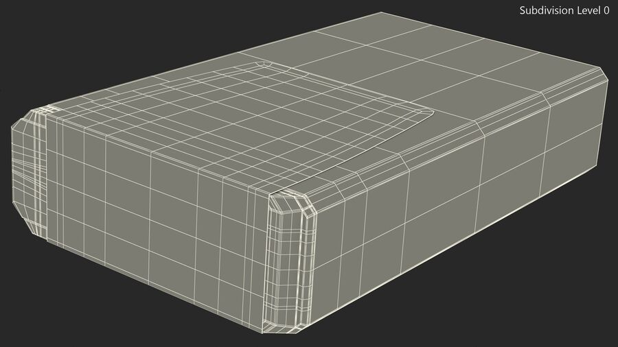 Mint Candy Container royalty-free 3d model - Preview no. 13
