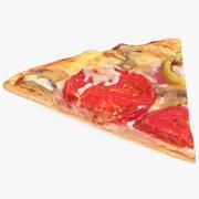 Fatia de pizza 3d model