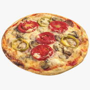 Küçük Boy Pizza 3d model