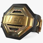 UFC Legacy Championship Belt 3d model