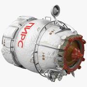 ISS模块码头对接舱 3d model