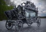 Den svarta vagnens vagn 3d model