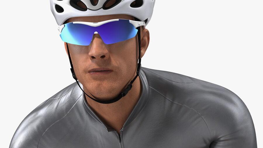 Bisikletçi Binme Bisikleti royalty-free 3d model - Preview no. 11