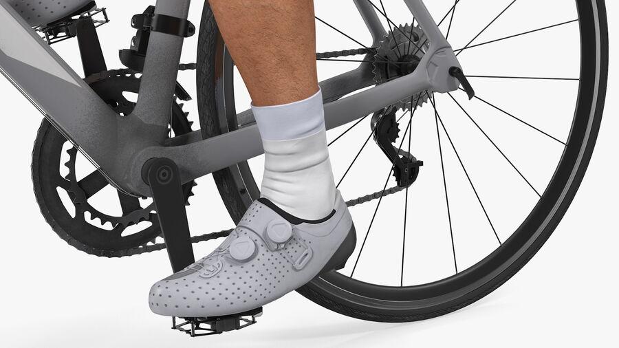 Bisikletçi Binme Bisikleti royalty-free 3d model - Preview no. 16