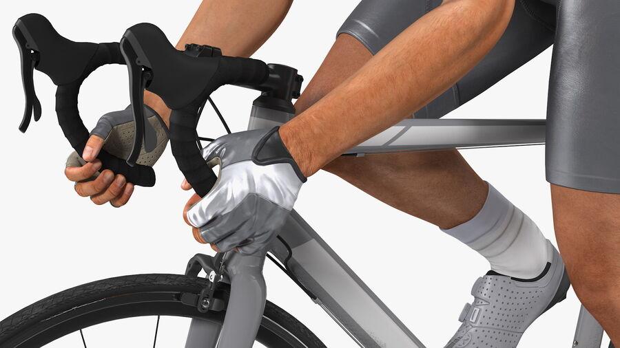 Bisikletçi Binme Bisikleti royalty-free 3d model - Preview no. 13