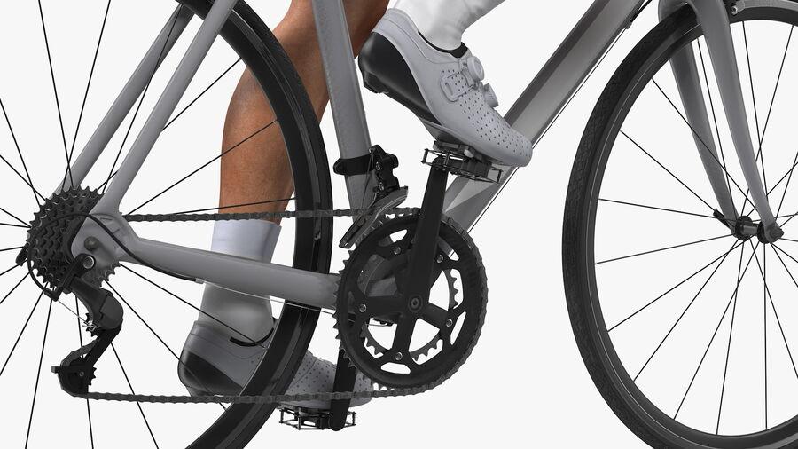 Bisikletçi Binme Bisikleti royalty-free 3d model - Preview no. 15