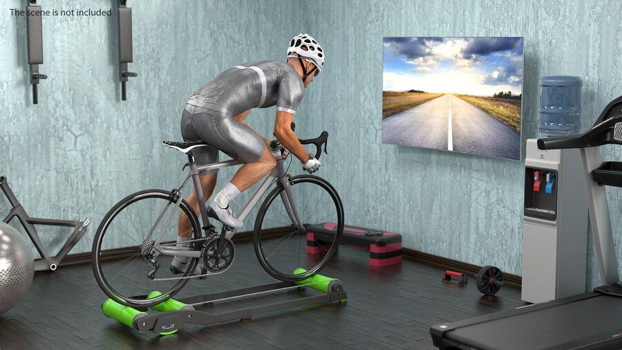 Bisikletçi Binme Bisikleti royalty-free 3d model - Preview no. 4