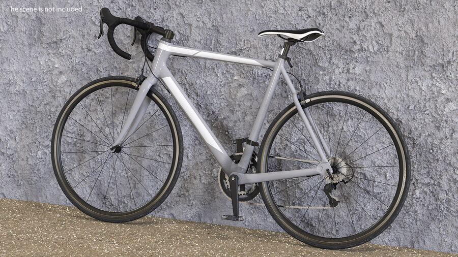 Bisikletçi Binme Bisikleti royalty-free 3d model - Preview no. 7