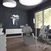 Interior do consultório dentista 3d model