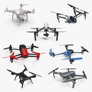 Quadcopter 드론 컬렉션 2 3d model