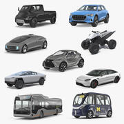 Concept Cars Collection 4 3d model