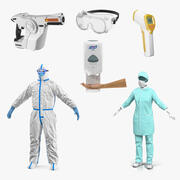 Doctors Protection Collection 4 3d model