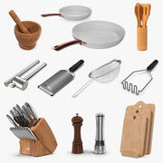 Kitchenware Collection 5 3d model