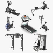 運動器具コレクション3 3d model
