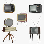 Retro TV Collection 2 3d model