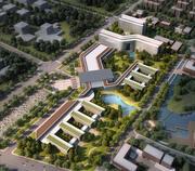 Kompletny kampus gimnazjalny 13 3d model