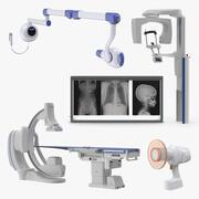 Kolekcja systemów rentgenowskich 3 3d model