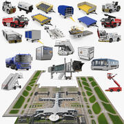 Airport Big Collection 3 3d model