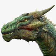 Dragon Wyvern Simple 3d model