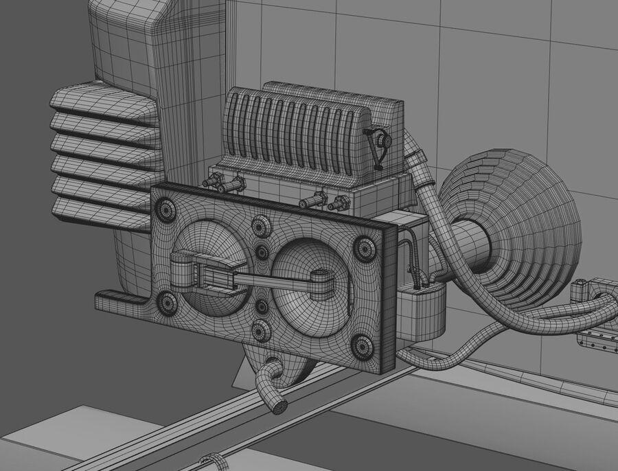Stadler KISS Double Deck Train 3D-modell royalty-free 3d model - Preview no. 17