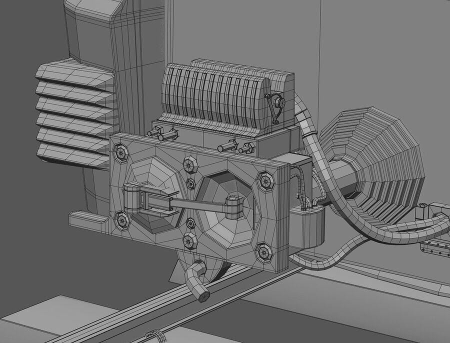 Stadler KISS Double Deck Train 3D-modell royalty-free 3d model - Preview no. 18