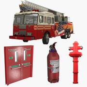 Feuer-Ausrüstung 3d model