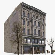 Historyczne mieszkanie i dom handlowy - Berlin tylko z zewnątrz, Koenigstrasse 21 3d model