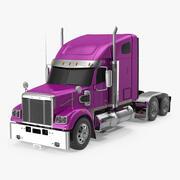 Proste wnętrze ciężarówki Heavy Duty 3d model