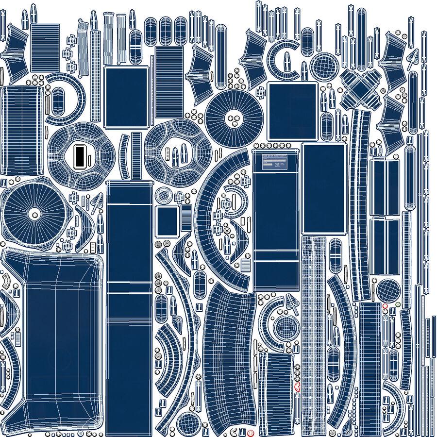 マリンアンカーウインドラス royalty-free 3d model - Preview no. 22