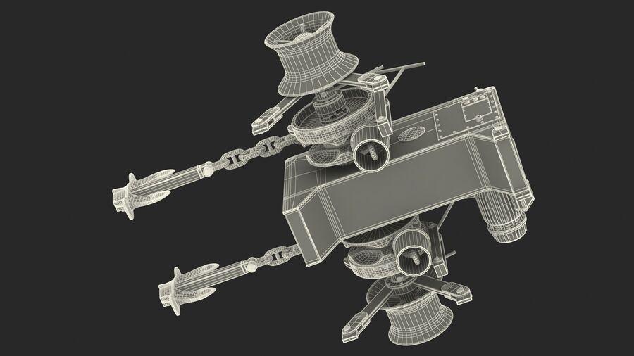 マリンアンカーウインドラス royalty-free 3d model - Preview no. 30