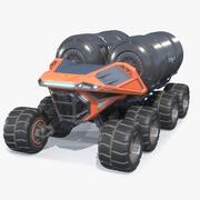 科幻重型流浪者加油机PBR 3d model
