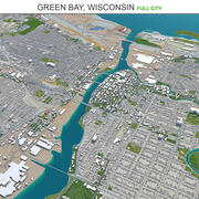 Green Bay em Wisconsin 3d model